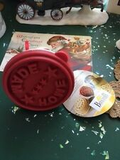 Birkmann Wood Cookie Stamp HOME MADE Wood Handle NWT