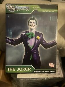 Joker Statue DC Universe Online Jim Lee DC Direct NEW Harley Quinn Poison Ivy