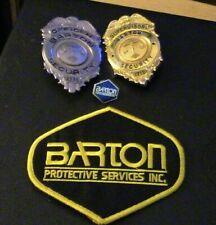 Company Closed: Barton Protective Service Combo Pack