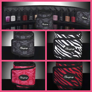 Bbeautylounge Nail Gel Polish Storage Roll Wrap Clutch Carry Mobile Bag