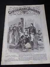 'The Gentlemans Journal & Youths  Miscellany ' No 110 Vol IV, 1869-72