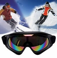 Snow Ski Goggles Glasses Men Anti-fog Lens Snowboard Snowmobile Motorcycle