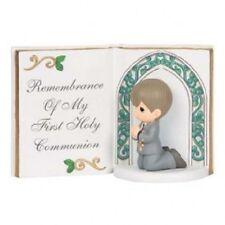 Precious Moments 143405 Communion Boy Bible Figurine New & Boxed