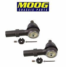 For Honda Odyssey Ridgeline Pair Set of 2 Outer Steering Tie Rod Ends Moog