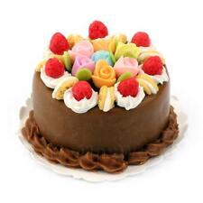 Dolls house milk chocolate strawberry cake