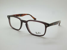 ec7d6f1a62 NEW Authentic Ray Ban RB 5353 5628 Opal Brown Purple Havana 50mm RX  Eyeglasses