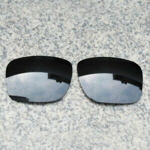 RAWD Stealth Black Replacement Lenses for-Oakley Holbrook OO9102 POLARIZED
