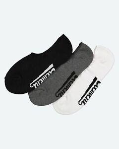 Element Socks 5 Pack Nudie No Show Multi Size 7-11 Skateboard Sox