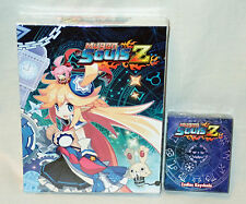 Mugen Souls Z Limited Premium Edition PS3 Game Art Book Poster  + Keychain NEW