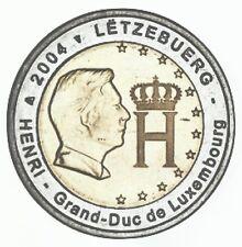 LUXEMBURG 2004 - 2 euro - Henri + Monogram - UNC