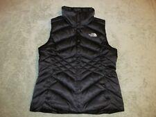 The North Face Women's Aconcagua Down Vest S Small TNF Black 550 Goose Puffer