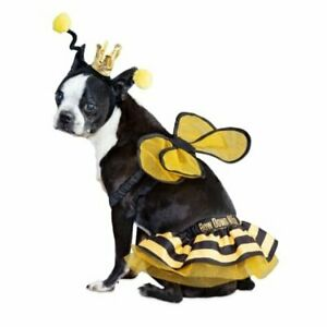 NEW Bootique Bee Royalty Pet Costume OUTFIT CLOTHING