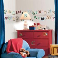 Décorations maison à motif Chiffres, lettres pour enfant Chambre d'enfant