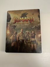 Jumanji Welcome To The Jungle 4k Ultra HD Bluray Limited Edition Steelbook