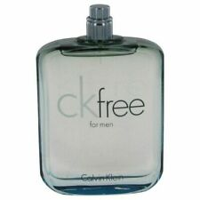 Ck Free by Calvin Klein 3.4 oz EDT Cologne for Men Brand New Tester