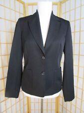 J. Crew Black 100% Wool Dressy 2 Button Blazer Jacket Women's Size 4