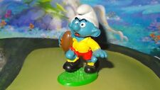 Smurfs Rugby Smurf Yellow Shirt 20065 Rare Vintage Schtroumpf #4 1980