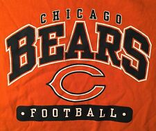 Chicago Bears Fan T-Shirt Youth XL 18-20  NFL Team Apparel COOL ORANGE!