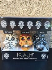 KAH TEQUILA MINI LIQUOR BOTTLE 3 PACK 50ML EMPTY crystal head soju patron 1942