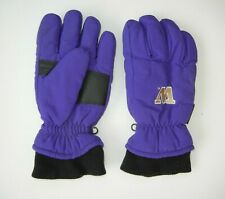 WASHINGTON HUSKIES UW Football Warm COLLEGE WINTER GLOVES Seattle Ski Sz Men M/L