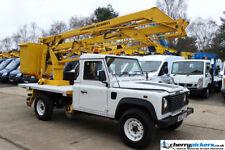 2003 Land Rover Defender Powered Access Cherry Picker Access Platform 14.5 Metre