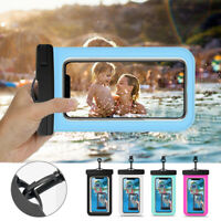Universal IPX8 Waterproof Underwater Dry Bag Case w/lanyard For iPhone Samsung