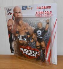WWE - Goldberg vs Stone Cold Steve Austin - Mattel - wrestling figures