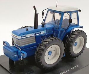 Universal Hobbies 1/32 Scale Diecast UH4032 - Ford County 1474 - Blue