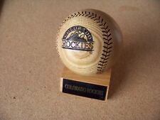1994 Colorado Rockies season record solid wood baseball ball