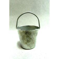Secchio in Metallo con Manico Cm 2x4,5 - Acquaiolo Pozzo Pastori Presepe