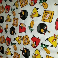 Embroidered Personalized STANDARD Pillowcase Angry Birds