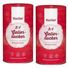 2x GelierXucker 3:1 mit Xylit, f. Konfitüre Marmelade Gelier Xucker, ohne Zucker