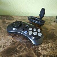 Original OEM Sega Genesis 6 Button Turbo Gamepad Controller Pad MK-1470