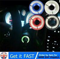 Car Ignition Coil Switch Sticker Luminous Decoration Key Hole Ring Decor