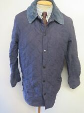 """Barbour Classic Eskdale Quilted Jacket - M 38-40"""" Euro 48-50 in Blue"""