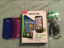 Alcatel One Touch Pop Icon - Black (TracFone) Android Smartphone