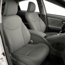 2010 2011 TOYOTA PRIUS KATZKIN LEATHER SEAT COVER COVERS COMPLETE SET FROST