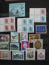 Briefmarken Luxemburg 1986/87 Restposten Konvolut; MH; postfrisch; Sammlung