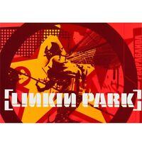 Linkin Park - Collage Postcard