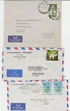 14024-Libano, 3 posta aerea per l' Italia, 1960/64