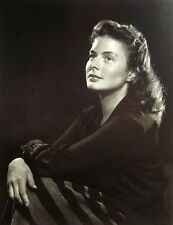 INGRID BERGMAN clipping Swedish actress B&W photo 1946 Intermezzo Notorious