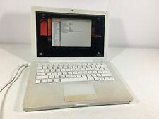"""Apple Macbook G4 Intel Core Duo 2 Ghz 13.3"""" Laptop A1181 See Description"""