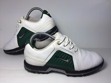 Nike Zoom Trophy Golf Shoes US Men's Size 8 Cleats White Green Style 379228-103