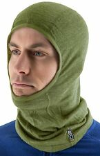 EDZ Merino Wool Thermal Balaclava - Olive Green