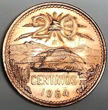 # C4294     MEXICO     COIN,    20  CENTAVOS   1964