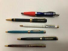Pharmaceutical Rep Metal Pens Lot of 6