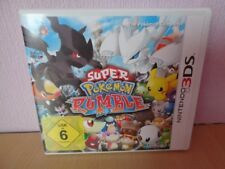 Super Pokémon Rumble (Nintendo 3DS, 2011) mit OVP