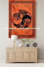 Indian Dragon Tiger Tapestry Wall Hanging Hippie Gypsy Throw Bohemian Yoga Mat