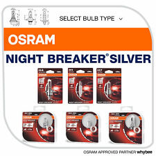 Osram Night Breaker® Silver +100% Brighter Halogen Bulbs H1 H4 H7 H11 All Types