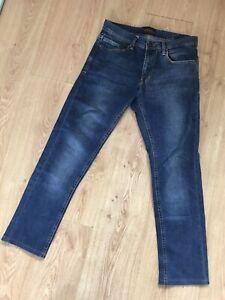 Zara Mens Jeans 30 Blue 30 X 28 Skinny